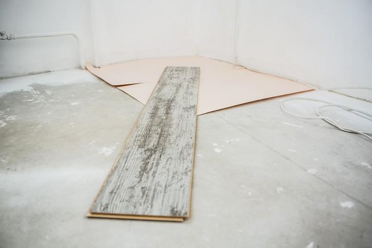 Luxury Vinyl Plank Over Concrete, How To Install Vinyl Flooring Planks On Concrete